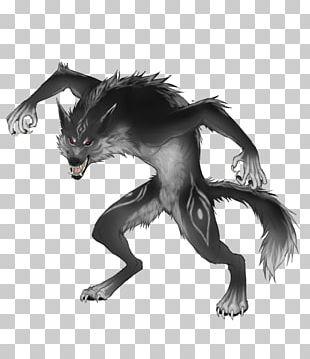 Drawing Gray Wolf Comics Werewolf Reindeer PNG