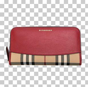 Burberry Wallet Designer Coin Purse Handbag PNG