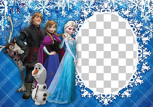 Elsa Anna Frames Frozen Film Series Disney Princess PNG