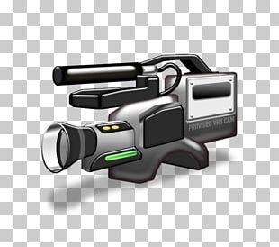 Video Camera Pixel Handycam Icon PNG
