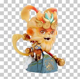 2017 League Of Legends World Championship Sun Wukong Figurine Riot Games PNG