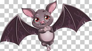 Bat Cartoon Stock Illustration Illustration PNG