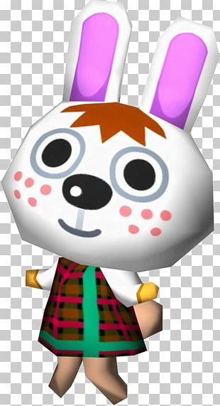 Animal Crossing: New Leaf Animal Crossing: Wild World Animal Crossing: City Folk Rabbit For Gabi PNG