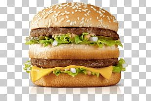 McDonald's Big Mac Hamburger McDonald's Quarter Pounder Cheeseburger Big N' Tasty PNG