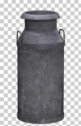 Milk Can Grey PNG