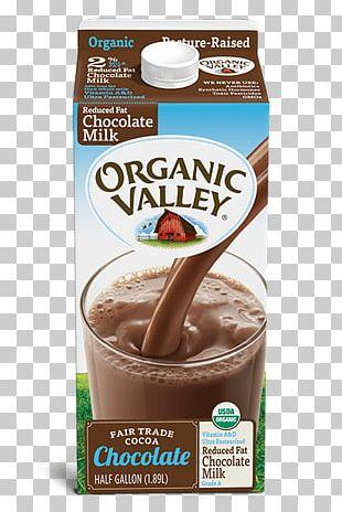 Chocolate Milk Organic Food Almond Milk Organic Valley PNG