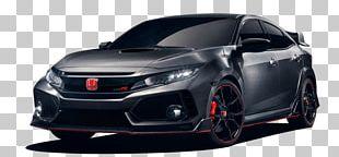 Honda Civic Type R Car Paris Motor Show Geneva Motor Show PNG