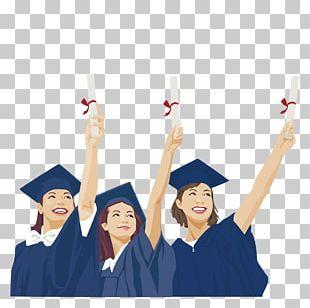 Student Graduation Ceremony Graduate University Estudante PNG