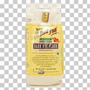 Organic Food Bob's Red Mill Dark Rye Flour Whole Grain PNG