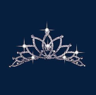 Diamond Crown Headdress PNG