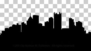 Pittsburgh Skyline Silhouette PNG