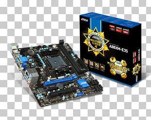 Socket FM2+ Motherboard Micro-Star International ATX PNG