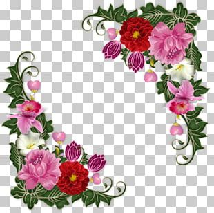 Floral Design Flower GIF Graphic Frames PNG