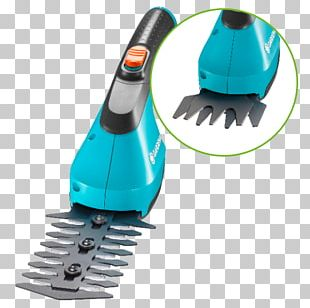Rechargeable Battery Grass Shears Gardena AG Hedge Trimmer PNG