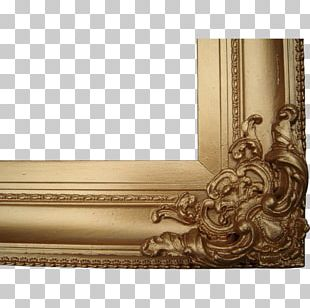Frames Victorian Era Metal Decorative Arts Antique PNG