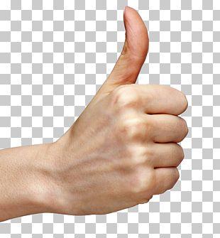 Thumb Signal Hand PNG