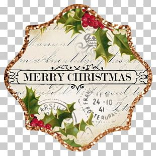 Christmas Ornament Santa Claus Sticker PNG