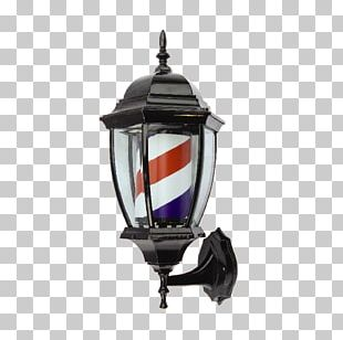 Light Barber's Pole Barber Chair Beauty Parlour PNG