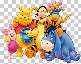 Winnie The Pooh Piglet Eeyore Winnie-the-Pooh Tigger PNG