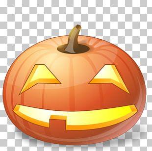 Halloween Jack-o'-lantern Pumpkin Icon PNG