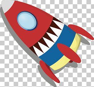 Rocket Cartoon PNG