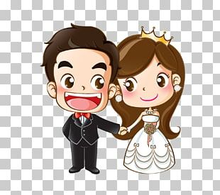 Wedding Invitation Cartoon Marriage Drawing PNG