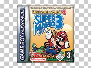Super Mario Advance 4: Super Mario Bros. 3 Wii U Game Boy Advance PNG