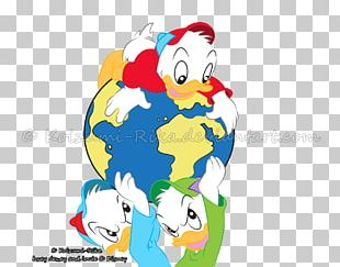 Donald Duck Scrooge McDuck Daisy Duck Huey PNG