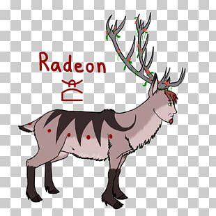 Reindeer Elk Horse Cattle Mammal PNG
