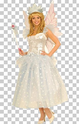 Tooth Fairy Halloween Costume Woman PNG