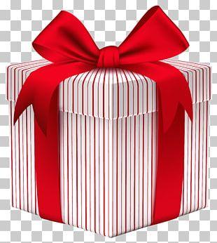 Christmas Gift Box Paper PNG