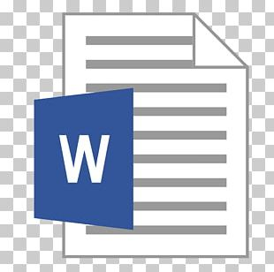 Microsoft Word Office Open XML Document Computer Icons Computer File PNG