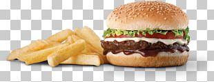 Hamburger Cheeseburger Fast Food Veggie Burger French Fries PNG