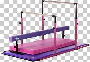 Balance Beam Gymnastics Mat Uneven Bars Horizontal Bar PNG