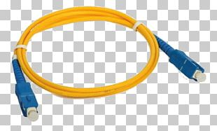 Fiber Optic Patch Cord Patch Cable Optical Fiber Connector Single-mode Optical Fiber PNG