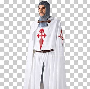 Middle Ages Crusades Knights Templar Clothing Cloak PNG