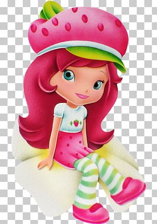 Strawberry Shortcake Doll PNG