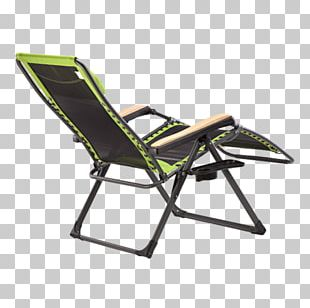 Deckchair Wing Chair Campsite Chaise Longue PNG