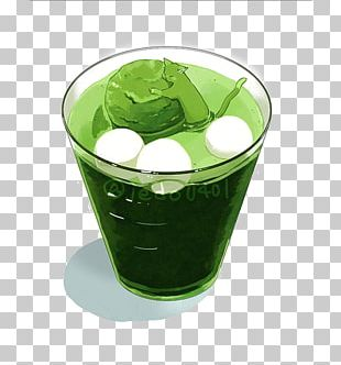Green Tea Coffee Yum Cha Drink PNG
