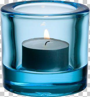 Iittala Votive Candle Tealight Glass PNG