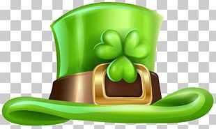 Saint Patrick's Day Hat Shamrock Irish People Cap PNG