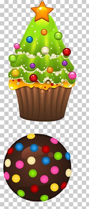 Cupcake Christmas Christmas Day PNG