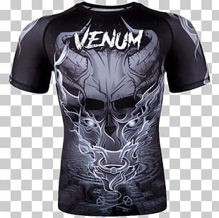 Venum Rash Guard Mixed Martial Arts Clothing PNG