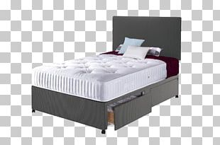 Bed Frame Box-spring Mattress Divan PNG