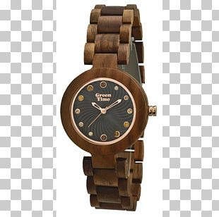 Citizen Watch Clock Wood Eco-Drive PNG