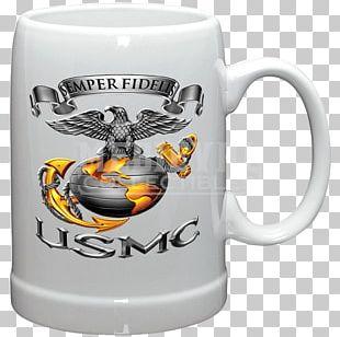 Mug Beer United States Marine Corps Tankard Semper Fidelis PNG