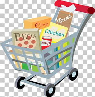 Grocery Store Shopping Cart Supermarket PNG