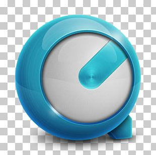 Aqua Turquoise Circle PNG
