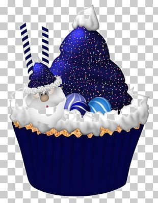Cupcake Birthday Cake Christmas Cake Candy Cane Muffin PNG