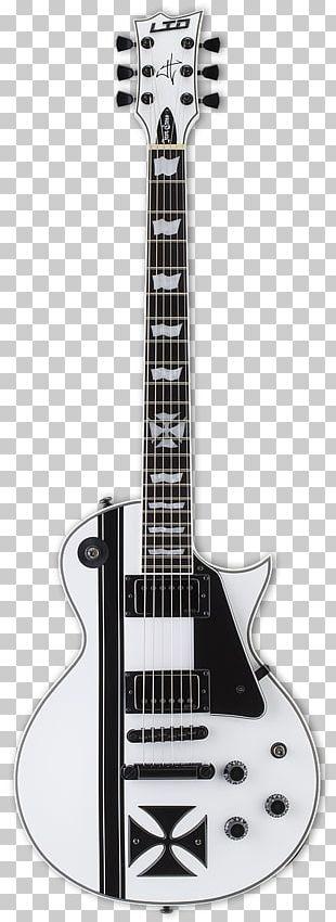 ESP James Hetfield Signature Snakebyte Electric Guitar ESP LTD MH-103 Electric Guitar ESP Guitars PNG